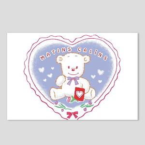 teddy hugs Postcards (Package of 8)