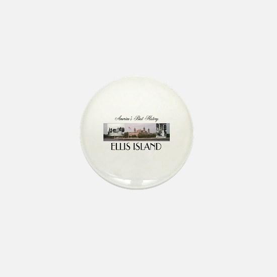 ABH Ellis Island Mini Button