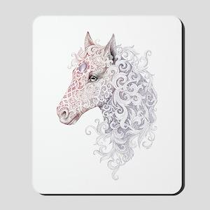 Horse Head Tattoo Mousepad