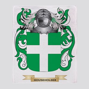 Householder Coat of Arms (Family Cre Throw Blanket