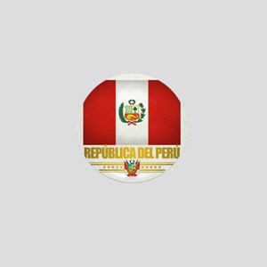 Flag of Peru Mini Button