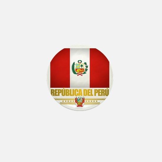 Flag of Peru Mini Button