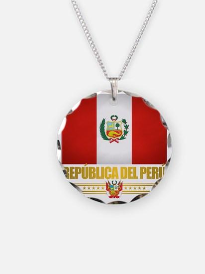 Flag of Peru Necklace