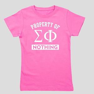 Sigma Phi Nothing Girl's Tee