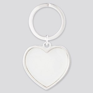 Sigma Phi Nothing Heart Keychain