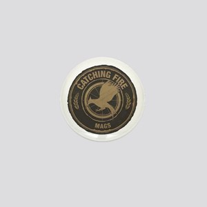 Catching Fire Mags Mini Button