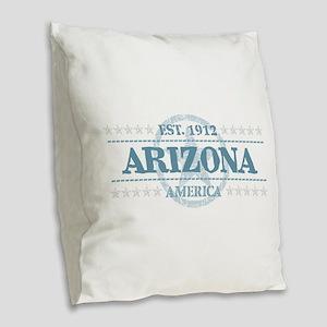 Arizona Burlap Throw Pillow