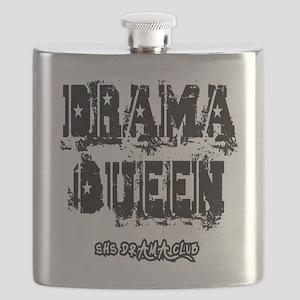 Drama Queen F T-Shirt Flask