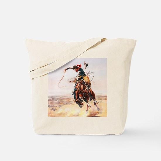 Cute Horse power Tote Bag