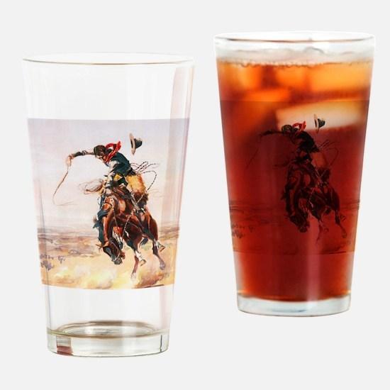 Cute Horse power Drinking Glass