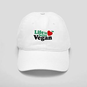 Life is Better Vegan Cap