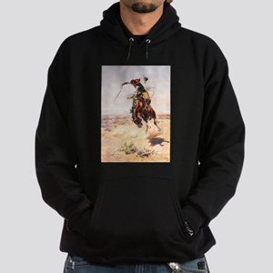 A Bad Hoss by Charles Marion Russell Sweatshirt