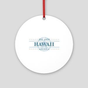 Hawaii Round Ornament