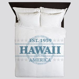 Hawaii Queen Duvet