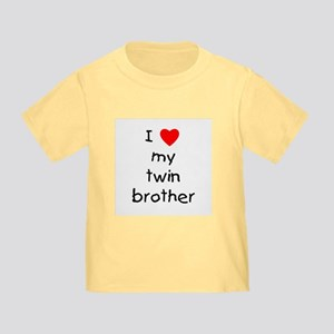 I love my twin brother Toddler T-Shirt
