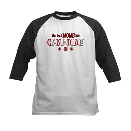 Canadian Moms Kids Baseball Jersey