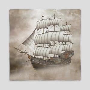 Cloud Ship Queen Duvet