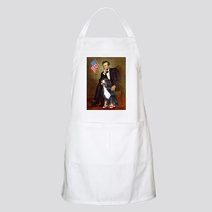 Lincoln & His Bernese BBQ Apron