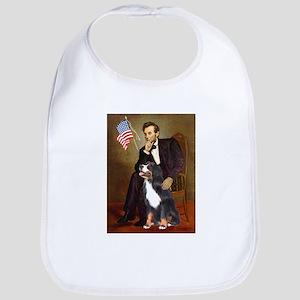 Lincoln & His Bernese Bib