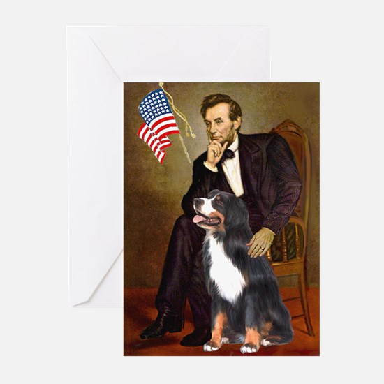 Lincoln & His Bernese Greeting Cards (Pk of 10)