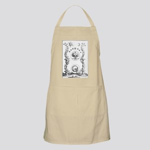 Alchemy Hermetecism print from the 1700s Apron