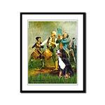 Spirit of '76 & Bernese Framed Panel Print