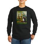 Spirit of '76 & Bernese Long Sleeve Dark T-Shirt