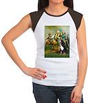 Spirit of '76 & Bernese Women's Cap Sleeve T-Shirt