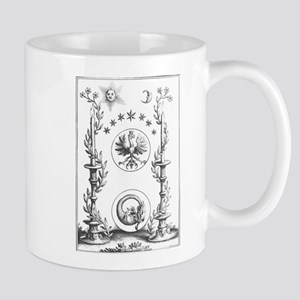 Alchemy Hermetecism print from the 1700s Mugs