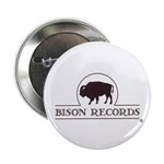 """2.25"""" Bison Records Logo Button (100 pack)"""