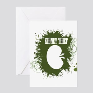 Kidney greeting cards cafepress kidney thief greeting cards m4hsunfo