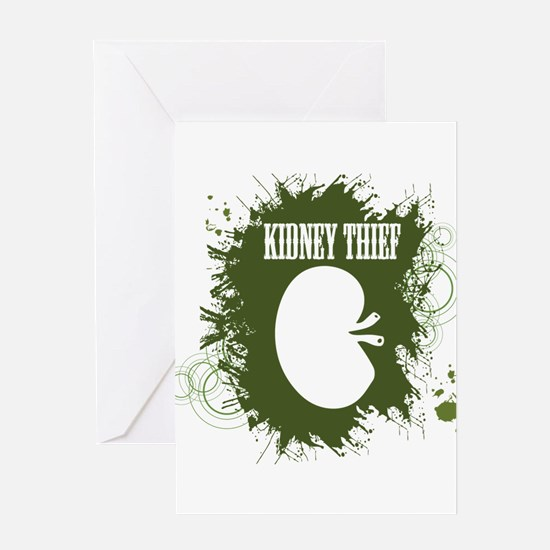 Kidney Thief Greeting Cards