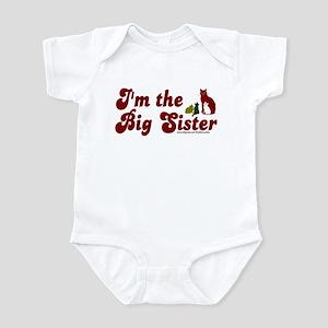 I'm the big sister (cats) Infant Bodysuit