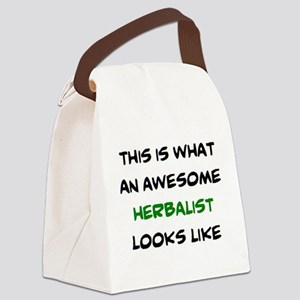 awesome herbalist Canvas Lunch Bag