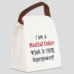 medical coder Canvas Lunch Bag