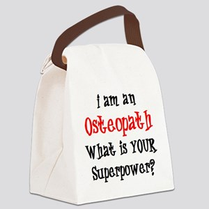 osteopath Canvas Lunch Bag