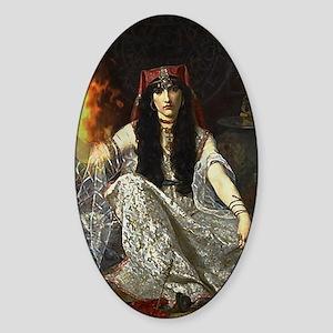 The Sorceress Sticker (Oval)