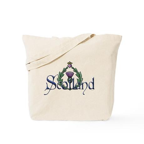 Scotland Thissle Tote Bag