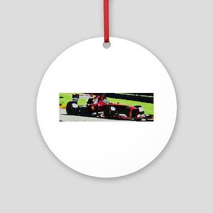 Ferrari F1 Ornament (Round)