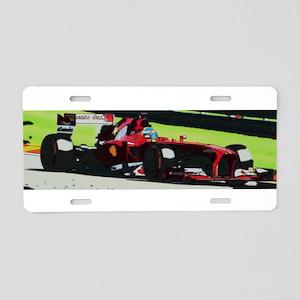 Ferrari F1 Aluminum License Plate
