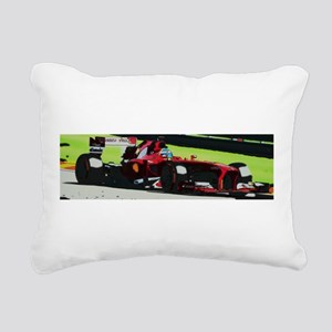 Ferrari F1 Rectangular Canvas Pillow
