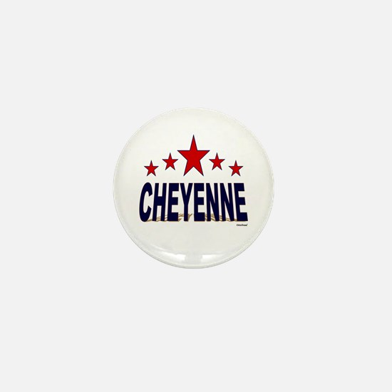 Cheyenne Mini Button