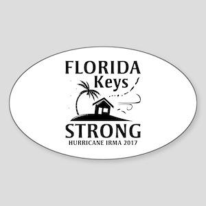 Florida Keys Strong Sticker (Oval)