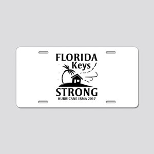 Florida Keys Strong Aluminum License Plate