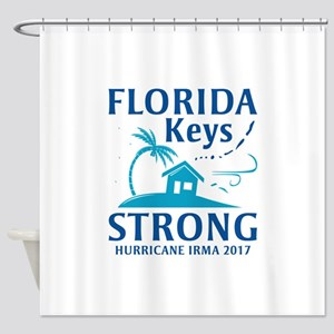 Florida Keys Strong Shower Curtain
