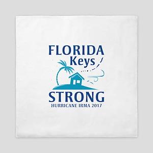 Florida Keys Strong Queen Duvet