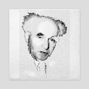 Ben Gurion Israeli Minister Queen Duvet