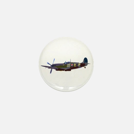 Supermarine Spitfire Mini Button