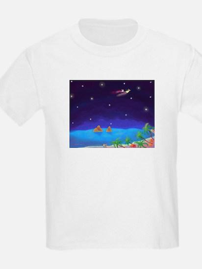 Flying over Lanikai T-Shirt
