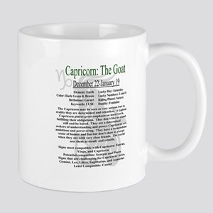 Capricorn traits Mugs